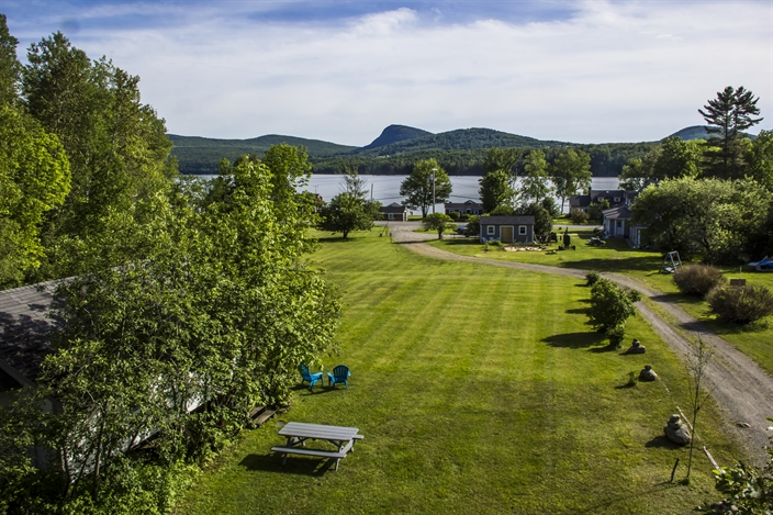Enjoy our four acres overlooking Lake Willoughby