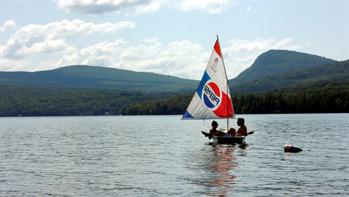 Bring a dingy; take a leisurely sail on the lake