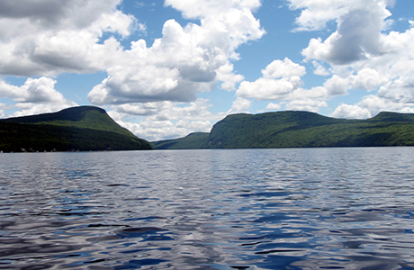 Cabin rentals green acres cabins westmore vt lake for Lake willoughby cabins